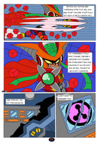 Mighty Number 9 Raychel past and future page 11 by DarkHedgehog23
