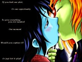 Wall Paper - First Kiss by Divided-Chaos