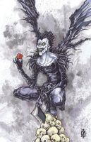 Death Note Ryuk by ChrisOzFulton