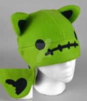Zombie Kitty Hat by SewDesuNe