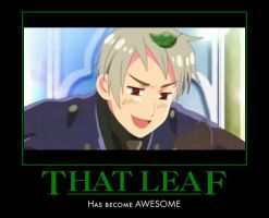 Prussia Leaf Motivational by AllxMadxHere