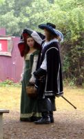 D'Artagnan and Constance by mistresskristinphoto