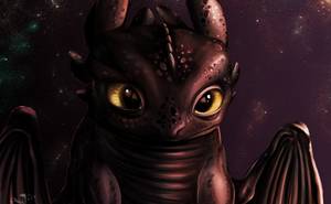 Toothless by DragonCelesh