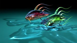 Two Ugly Fish 1920x1080 by TylerXy