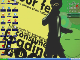 New Desktop -- p4 baby. by Picup
