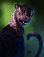 Black Panther by TehChan