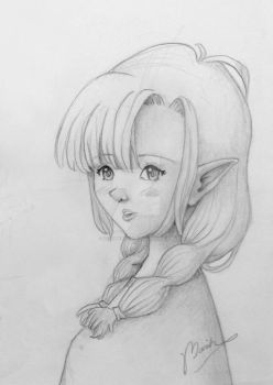 Elf Girl by fuzzybeargirl