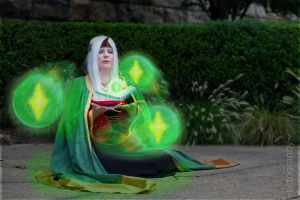 I call upon thee, espers of the spirit world... by vicious-cosplay