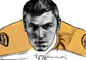 Milan Lucic WIP by Audrey-Taft