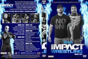 TNA Impact Wrestling August 2013 DVD Cover by Chirantha