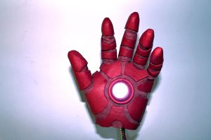 Iron Man glove 2 by TonyStarkItaly