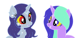 Two Beautiful Goddesses by TargetGirl