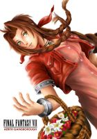 Aerith Gainsborough by ge12ald