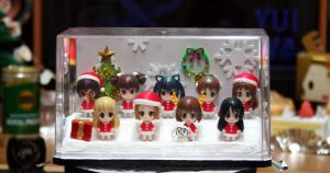 K-on!! Santa-Figure diorama by andre757