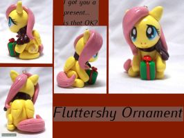 Fluttershy Ornament by CadmiumCrab
