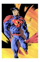 SUPERMAN by drawhard