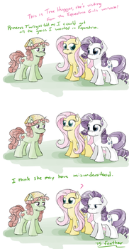 S05E07 - Tree Hugger by feather-chan