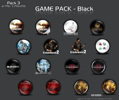 Game Pack 3 Black by 3xhumed