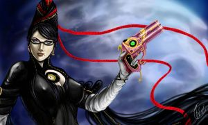 Bayonetta fan art by Daelyth