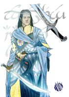 Fingolfin by IvanColi