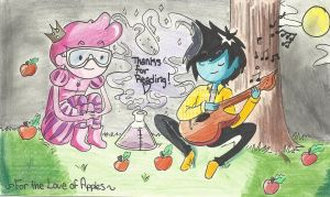 For the love of apples COVER by Alexandria-Paige