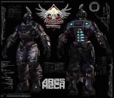 ARES MECH WIP 003 by mestophales