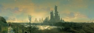 Industrial wasteland by inkbot-uk