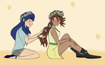 Flower Crowns by SketchyLovesMC