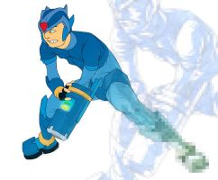 Blue Bomber by Deputee