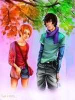 Theo et Esther by Ni-nig