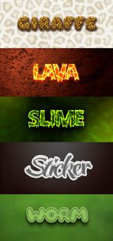 Text Effect Pack3 by DigitalConnection