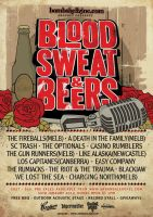 Blood, Sweat and Beer Poster by my-name-is-annie