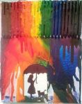 Rainbow Rain by SquirrelGirl15