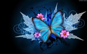 Blue Butterfly by StarwaltDesign