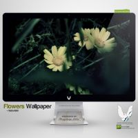 .FLOWERS. Wallpaper by enemia