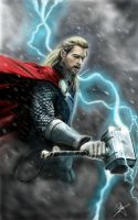Thor the dark world by billycsk