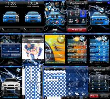 BMW iPhone Theme by At0mArt
