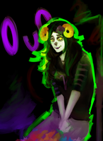 Bloodswap!Aradia by Meepzie