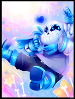 Underswap Sans!!!!! - Commission by WalkingMelonsAAA
