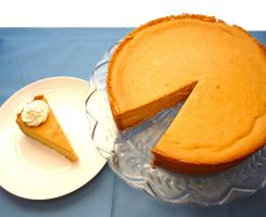 Pumpkin Cheesecake III by LoveandConfections