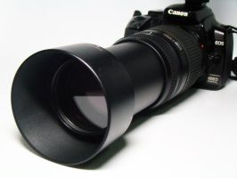 My Old Canon 400D by archaznable30