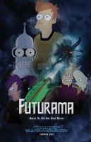 Futurama Movie Poster by Ashchii