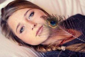 sheets and wild feathers by FDLphoto