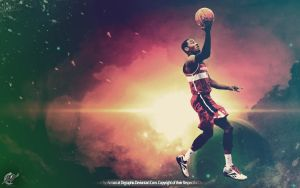 John Wall Wallpaper by drgraphic