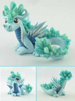 Ice Dragon by claymeeples