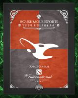TI3 Banners - Mousesports by goldenhearted