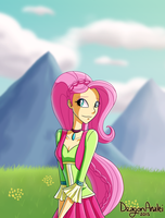 Fluttershy-Friendship Through the Ages by DragonAnalei
