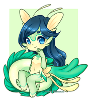 Sea Dragon Chibi Extra by Pikapaws