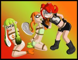 Commission Splatoon. by kaozkaoz