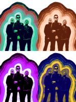 Color Experiment: Depeche Mode by theOrangeSunflower